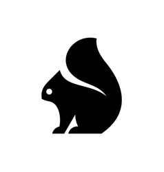 Squirrel logo vector