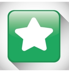 Star button icon Social media design vector