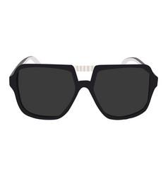 Sunglasses icon on a white background men vector