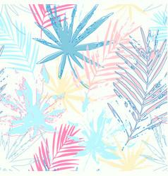 Tropics paradise for summer fashion swimwear vector