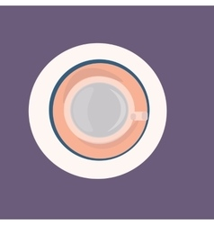 cup of water icon for web design vector image