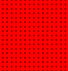 Seamless dotted pattern vector image vector image