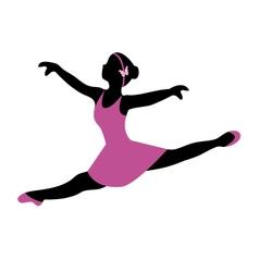 ballerina 4 vector image