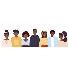 Black community concept vector