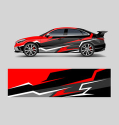 Car decal graphic wrap vinyl sticker graphic vector
