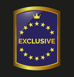 Exclusive label vector