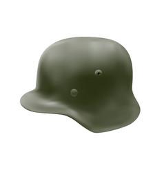 german helmet in vector image