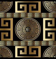modern geometric greek seamless pattern vector image
