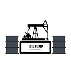 Oil Pump design vector