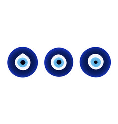 Set evil eye protection signs vector