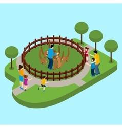 Contact Zoo vector image