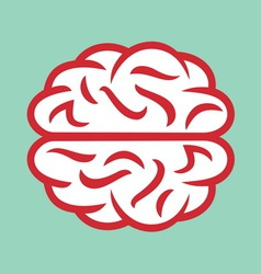 brain simple2 resize vector image