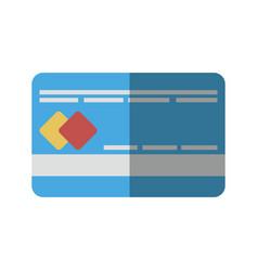 Credit card icon vector