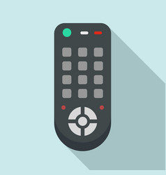 Ir remote control icon flat style vector