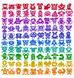 Monster Collection vector image vector image