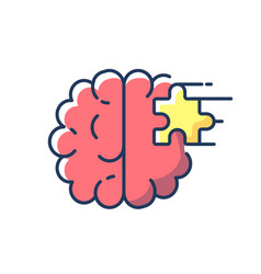 Psychiatric ward rgb color icon vector