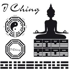 Symbols Ching vector image