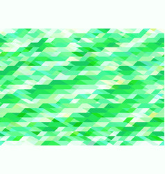bright shades of green geometric pattern vector image vector image