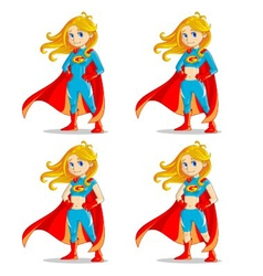 wonder girl vector image vector image