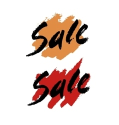 Blob sale text vector image