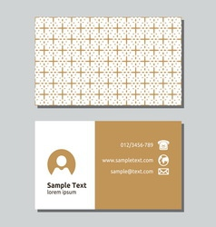 Businessman card9 resize vector image