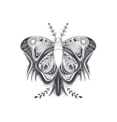 butterfly art design vector image