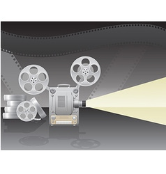 cinema projector 02 vector image