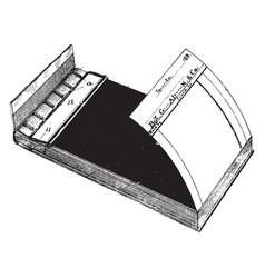 Duplicating memorandum book vintage vector