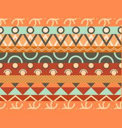 ethnic seamless pattern tribal textiles hippie vector image
