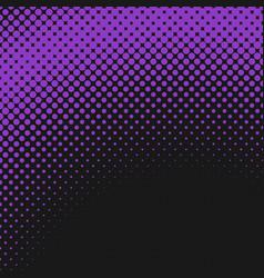 halftone circle pattern background design vector image