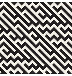 Seamless Jumble ZigZag Lines Diagonal vector image