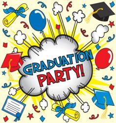 graduation party vector image vector image
