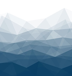 Blue Trendy Background vector image