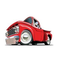 Cartoon Pickup vector image vector image