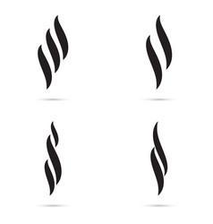 aroma icon set vector image