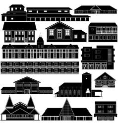 Australian architecture-5 vector
