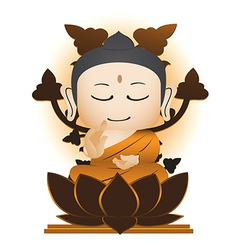Buddha Cartoon vector image