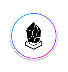 cryptocurrency coin lisk lsk icon isolated on vector image