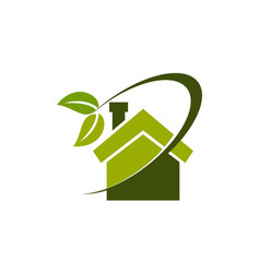 Eco home insulation vector
