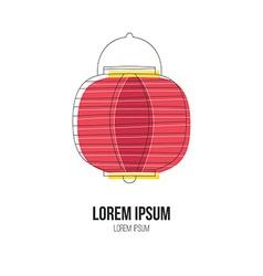Lantern Logo vector image
