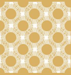 Large gold sun texture seamless vector