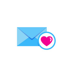 love mail logo icon design vector image