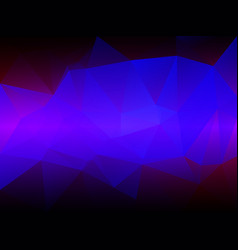 pink purple blue low poly background vector image