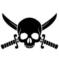 Pirate symbol vector