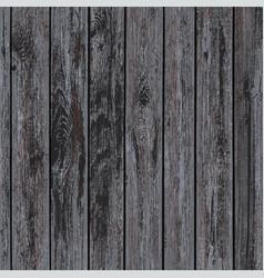Texture of dark wooden panels vector