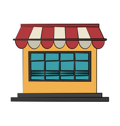 shop or store icon image vector image