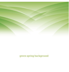 Abstract green color modern background design vector