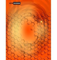 abstract background Hexagon Web vector image