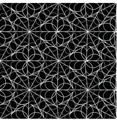 abstract seamless pattern background in black and vector image