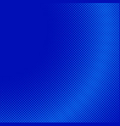 blue geometrical halftone circle pattern vector image